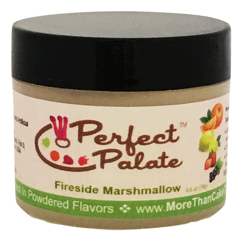 Perfect Palate™ Fireside Marshmallow Powdered Food Baking Flavor .6oz (16g) by More Than Cake - Cricket Creek