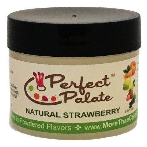 Perfect Palate™ Natural Strawberry Powdered Food Baking Flavor .6oz (16g) by More Than Cake