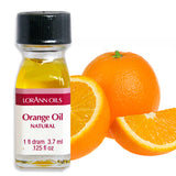 All Natural Mix Dram Combo Pack Peppermint Oil, Orange Oil, Lemon Oil, by LorAnn Oils - Cricket Creek