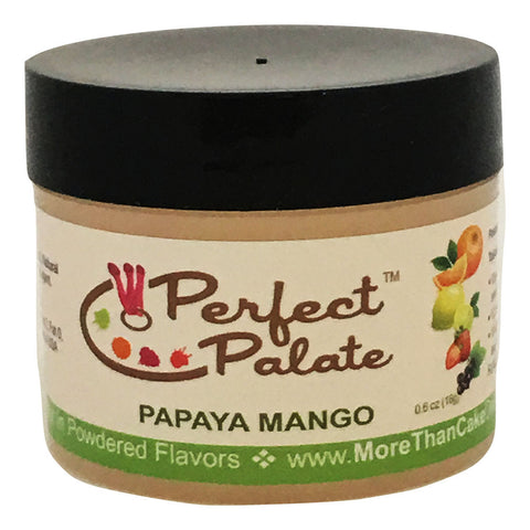 Perfect Palate™ Papaya Mango Powdered Food Baking Flavor .6oz (16g) by More Than Cake - Cricket Creek