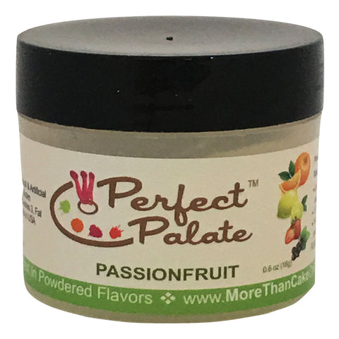 Perfect Palate™ Passionfruit Powdered Food Baking Flavor .6oz (16g) by More Than Cake - Cricket Creek