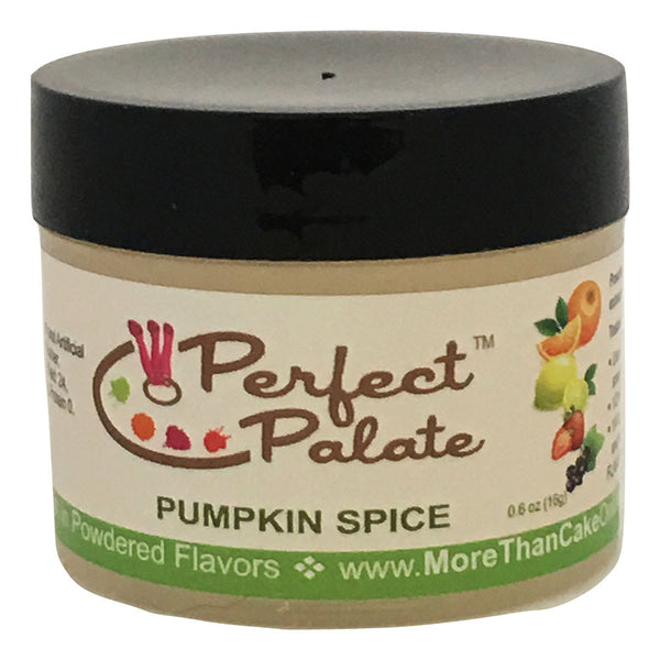 Perfect Palate™ Pumpkin Spice Powdered Food Baking Flavor .6oz (16g) by More Than Cake - Cricket Creek