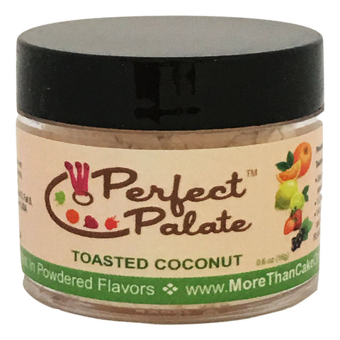 Perfect Palate™ Toasted Coconut Powdered Food Baking Flavor .6oz (16g) by More Than Cake - Cricket Creek