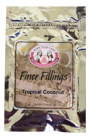 Finer Fillings™ Tropical Coconut by More Than Cake - Cricket Creek