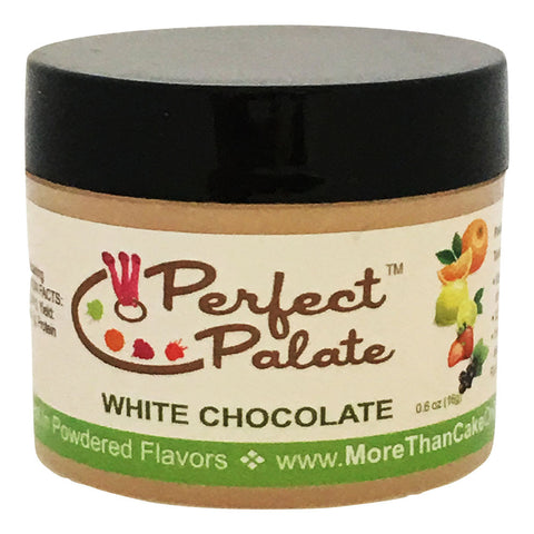 Perfect Palate™ White Chocolate Powdered Food Baking Flavor .6oz (16g) by More Than Cake - Cricket Creek