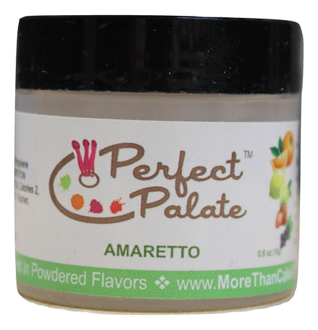 Amaretto Powdered Food Baking Flavor .6oz (16g) by More Than Cake - Cricket Creek