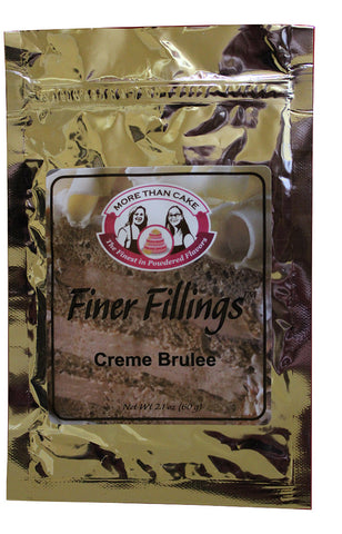 Finer Fillings™ Creme Brulee by More Than Cake - Cricket Creek