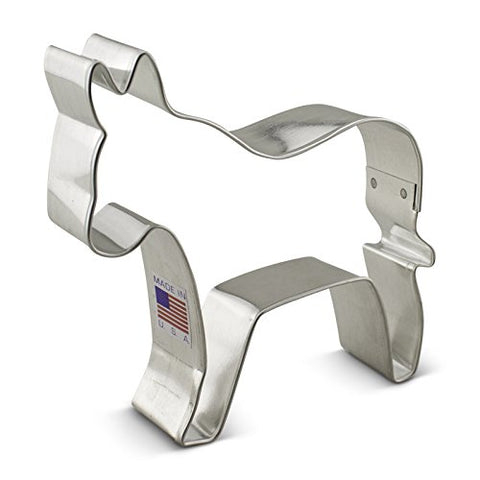 Ann Clark Donkey Democratic Cookie Cutter - 3.75-inches - Tin Plated Steel - Cricket Creek