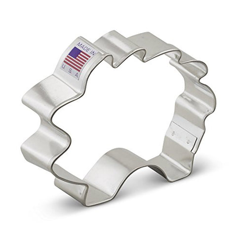 Hedgehog Cookie Cutter - 3.5 Inches   - Ann Clark - US Tin Plated Steel - Cricket Creek