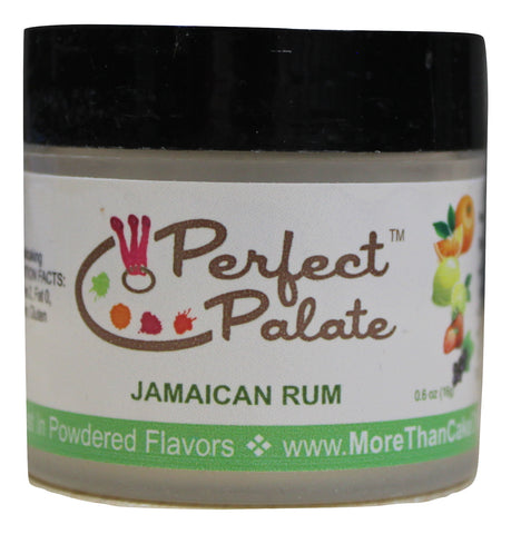 Jamaican Rum Powdered Food Baking Flavor .6oz (16g) by More Than Cake - Cricket Creek