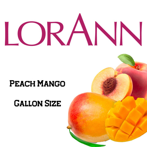 Peach Mango LorAnn Super Strength Flavor Gallon Size - Cricket Creek