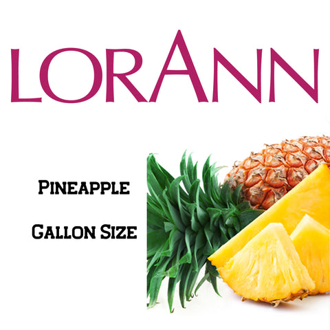 Pineapple LorAnn Super Strength Flavor Gallon Size - Cricket Creek