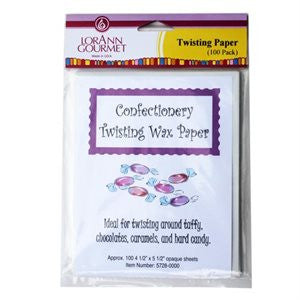 Twisting Wax Paper (100 pack) - Cricket Creek