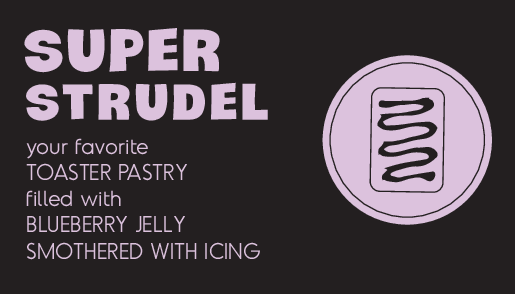 Super Strudel Blueberry