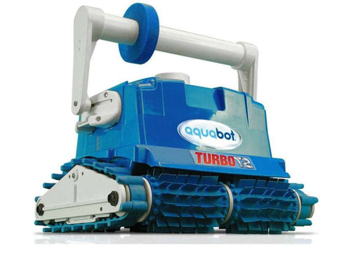 Aquabot Turbo T2 with Caddie In Ground Pool Cleaning Robot