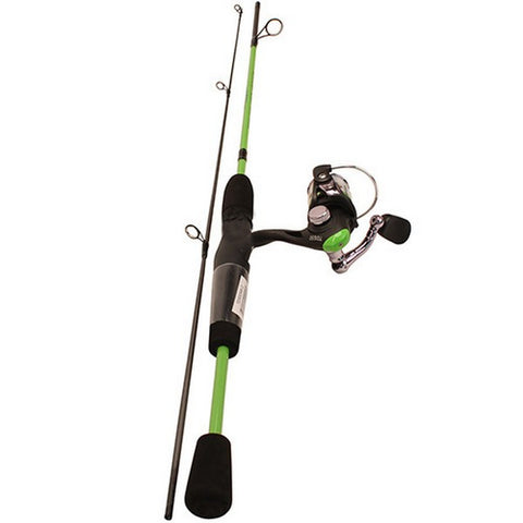 "Lew's TDS7556-2 Trout Daddy Spinning Combo 5'6"" 2 Piece Light Rod w/ Graphite Reel Spooled w/ 6# Mono - Light"