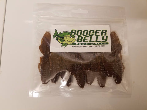 "Booger Belly 3.25"" Lovebugs (10 pk) - Fudge"
