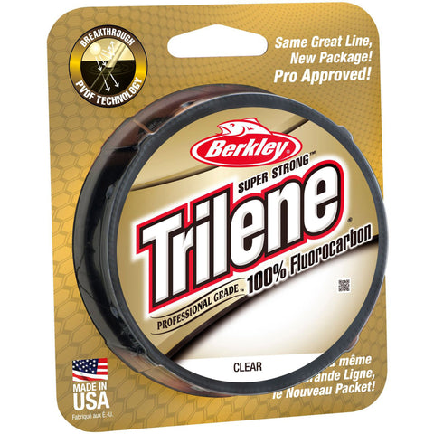 Berkley Trilene Super Strong Professional Grade 100% Fluorocarbon - 12# 200 yds Clear
