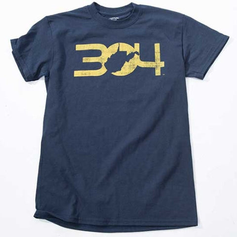 304 Men's T - Shirt - Blue