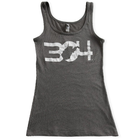 304 Ladies Tank Top - Grey