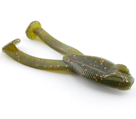 "412 Bait Co 4"" 412oads -  Green Pumpkin Special - 6pk"