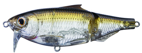Live Target Scaled Sardine Twitchbait and Wakebait Ghost/Amber
