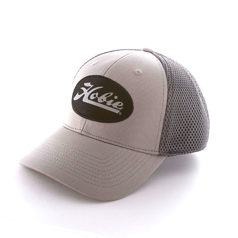 HOBIE PATCH GRAY/BLACK HAT
