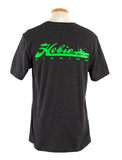 Hobie Fishing Charcoal/Lime S/S Shirt