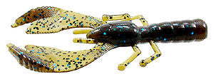 "Cabin Creek Express Craws - 3.5"" - #57 Green Pumpkin/Blue"