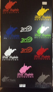WVO Solid Color State Decal - Various Colors
