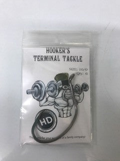 Hooker's Terminal Tackle Mad Catter Heavy Duty 10/0 (6 pk)