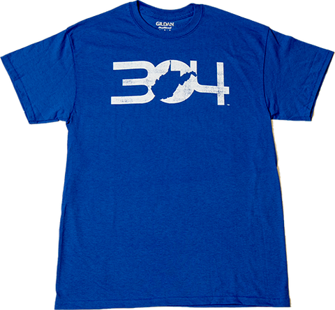 304 Men's T- Shirt - Royal Blue
