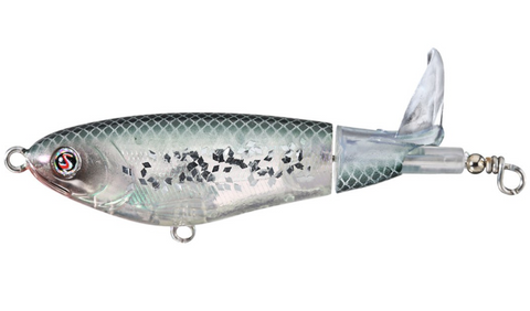 River2Sea Whopper Plopper 130 - Crystal Minnow