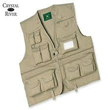 Crystal River Fly Fishing Vest - (various sizes)