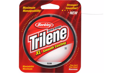 Berkley Trilene Super Strong XL Smooth Casting - 12# 300 yds Clear