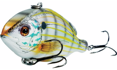 Live Target Pinfish Rattlebait Natural/Metallic