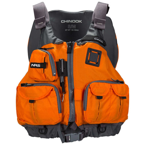 NRS Chinook Fishing PFD - Orange