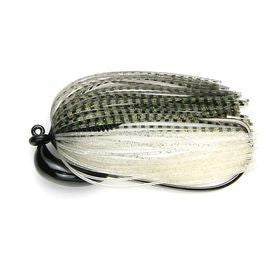 KEITECH Model 3 Tungsten Swim Jig - Silver Flash Minnow - 1/4oz