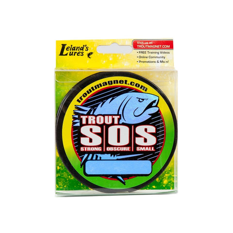 Leland's Lures Trout SOS - 4# 350 yds Green