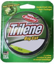Berkley Trilene Super Strong Big Cat - 40# 200 yds Solar