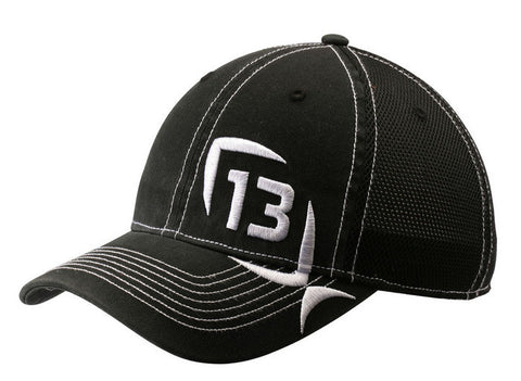 "13 Fishing ""The Stetson"" Black Hat"