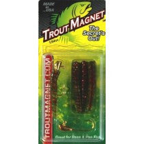 Trout Magnet Green/Red Flake