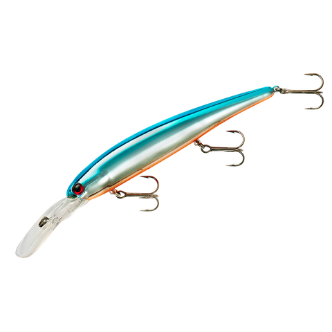 Bandit Walleye Deep - Chrome Blue Back