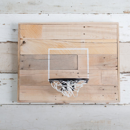 Wooden Basketball Goal
