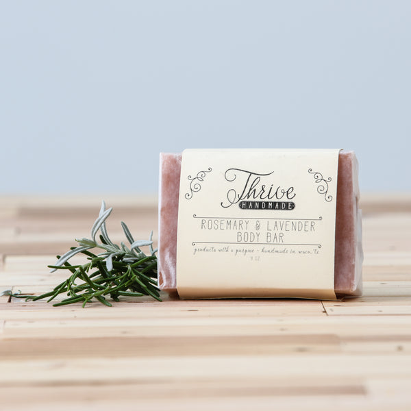 Rosemary & Lavender Body Bar