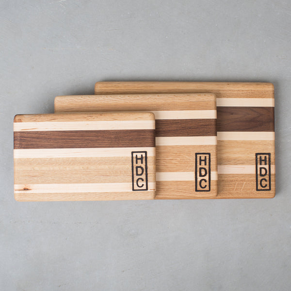 HDC Striped Cutting Board