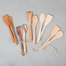 Handmade Wood Spoon & Spatula Set
