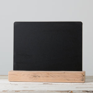 Chalkboard with Woodholder