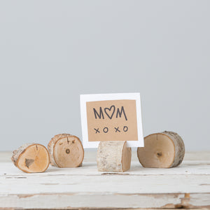 Wooden Place Card Holders