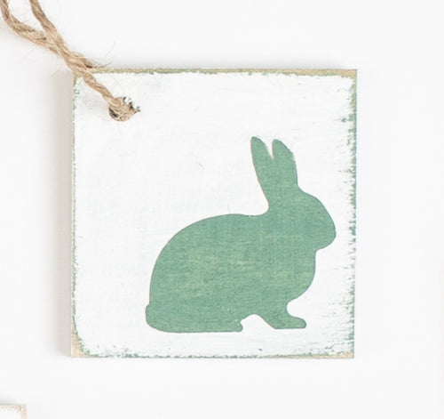 Easter Bunny Tag